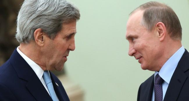 14 липня відбудеться зустріч Керрі й Путіна