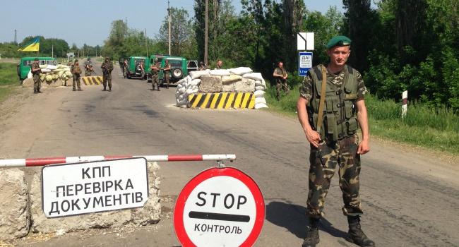 Пограничники: на КПП Донбасса растут очереди из авто