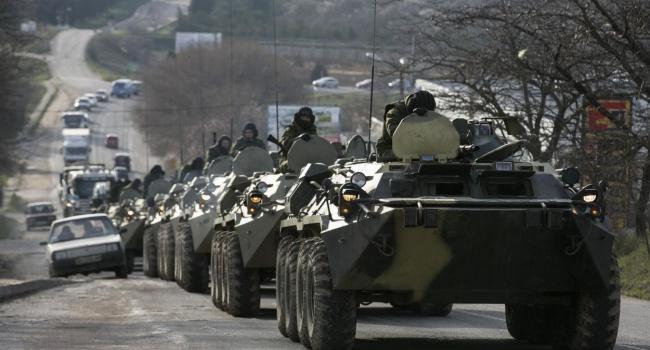 Разведка: из России на Донбасс едут танки
