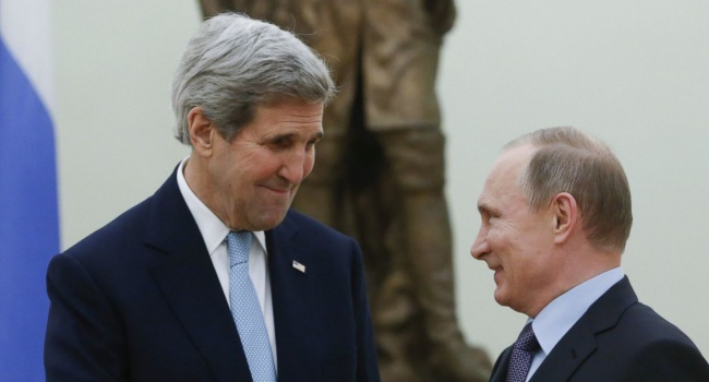 Керри передал Путину «привет» от Обамы