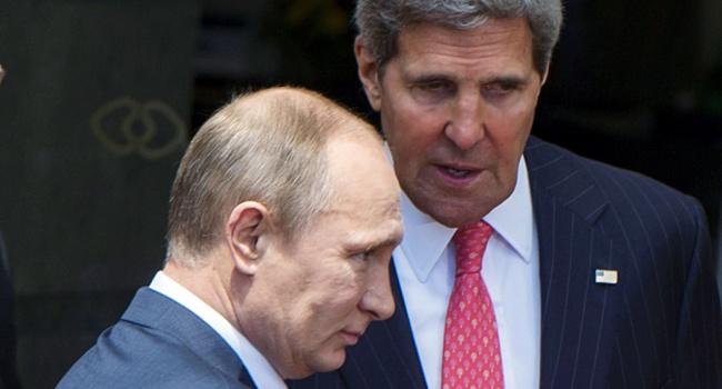 Песков отчитался по теме переговоров Керри и Путина