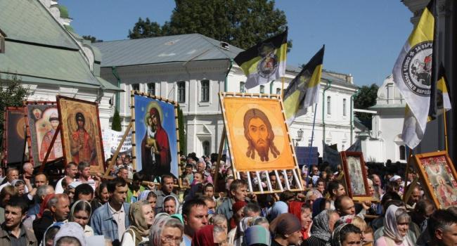 Грицак: крестный ход направлен на дестабилизацию ситуации в Украине