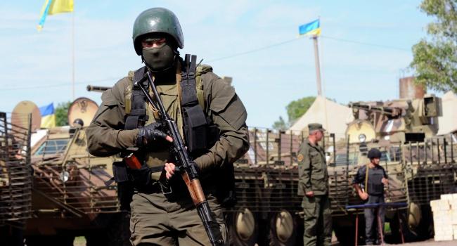Украинские военные отравились в учебном центре