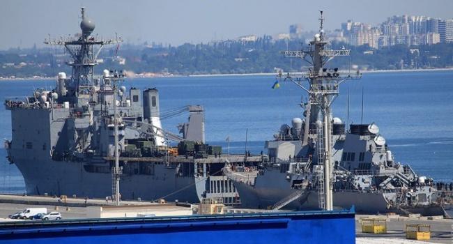 «Крепнущая дружба»— вОдессу прибыли американские боевые корабли