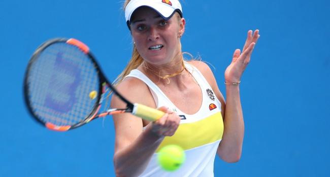 Свитолина начала с победы турнир в Канаде