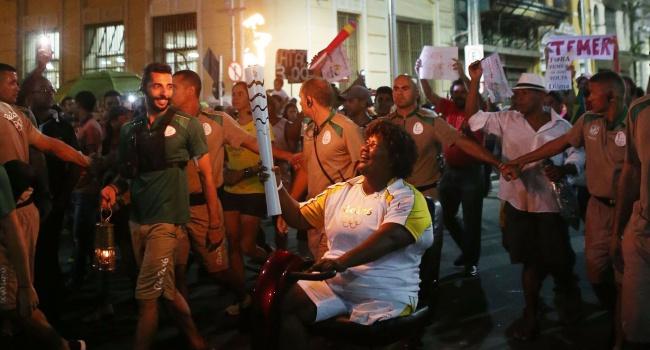 ВБразилии проходят акции протеста против Олимпиады