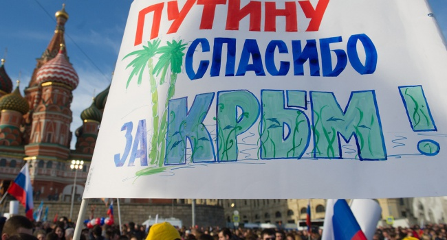 О том, что делает Путин для того, чтобы Крым никогда не вернулся в состав Украины