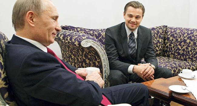 Ди Каприо и Путина пригласили участвовать в одном проекте