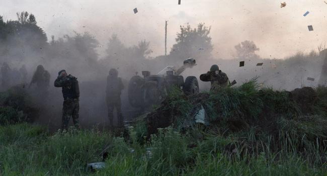 Боевики бросили собственных наполе боя— Обстрел Попасной