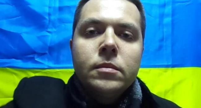 Крымский блогер поведал опобеге вгосударство Украину