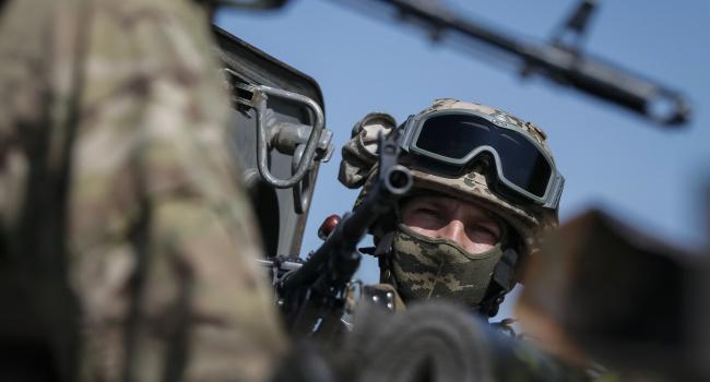 Противник из152-мм минометов обстрелял позиции бойцов ВСУ вСионитном