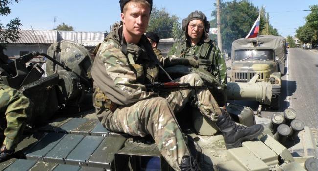 Разведка: Засутки наДонбассе 4 российских военных ранены, один погиб