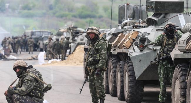 Российская Федерация пригнала наДонбасс танки и«Грады»— агентура