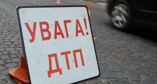 Половина авто киевского патруля уже побывала вДТП