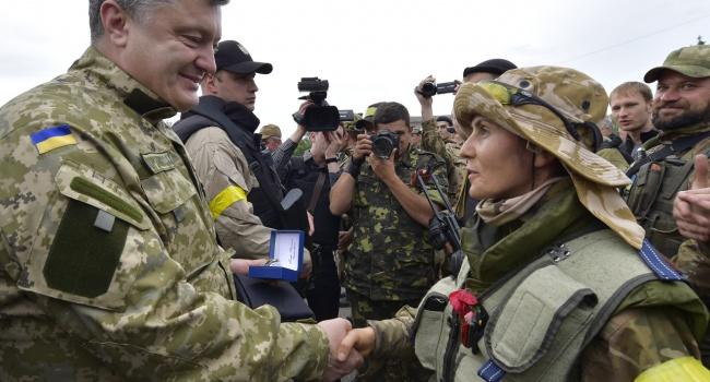 Вице-премьер назвала количество женщин вВооруженных силах Украины