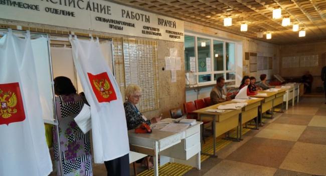 Внескольких районах Крыма избирательные участки остались без света