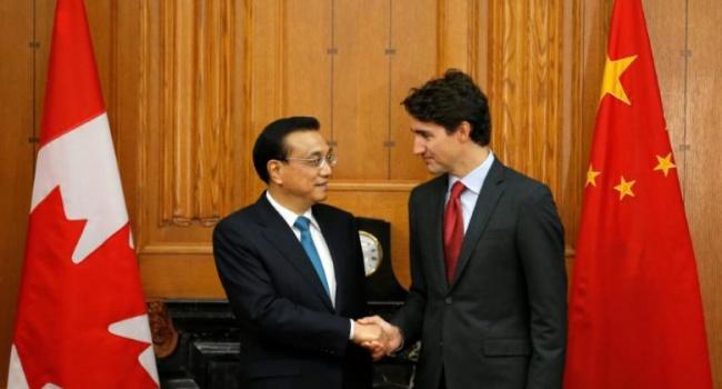 Китайский премьер прибыл вОттаву свизитом вКанаду