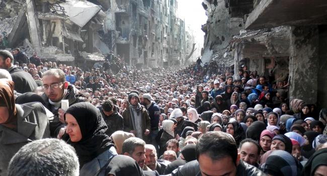 Красный Крест доставил гуманитарную помощь восажденные сирийские города