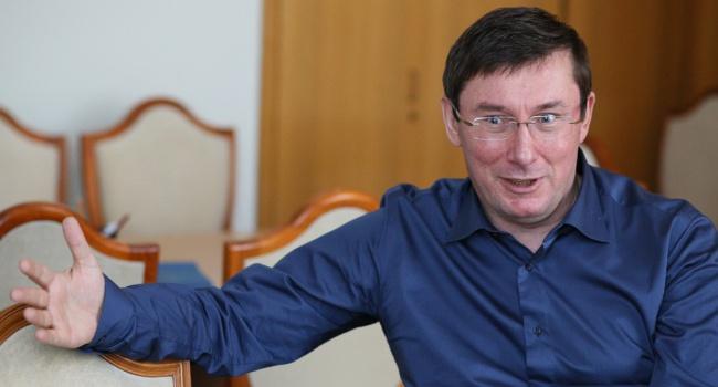 Луценко заявляє про затримання захабарництво прокурора відділу ГПУ і адвоката
