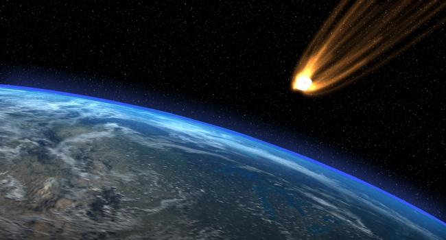 56 млн лет назад вЗемлю врезалась комета— Ученые