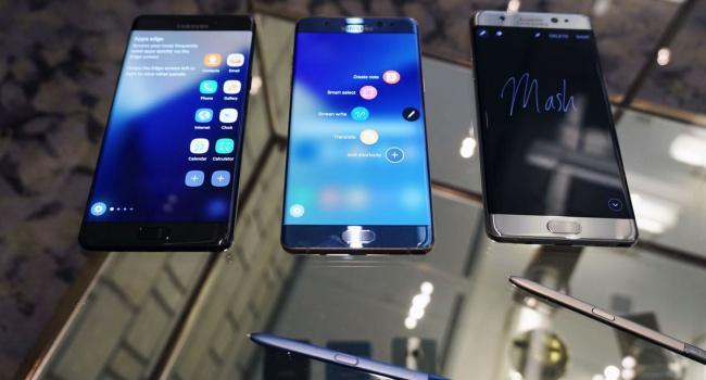 Взрывоопасные сматфоны Самсунг Galaxy Note 7 опять доступны кпродаже