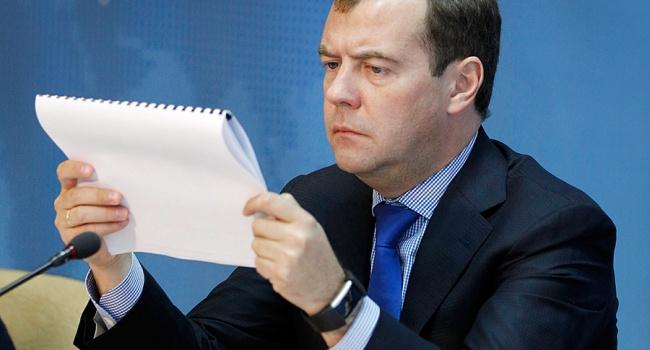 Прем'єр Росії Медведєв про санкції: Цепогано, але нецеголовне