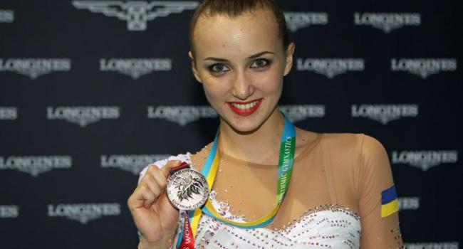 Гимнастка Г.Ризатдинова стала лучшей спортменкой Украинского государства осенью