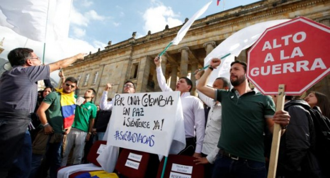 Президент Колумбии объявил о разговоре спротивниками перемирия