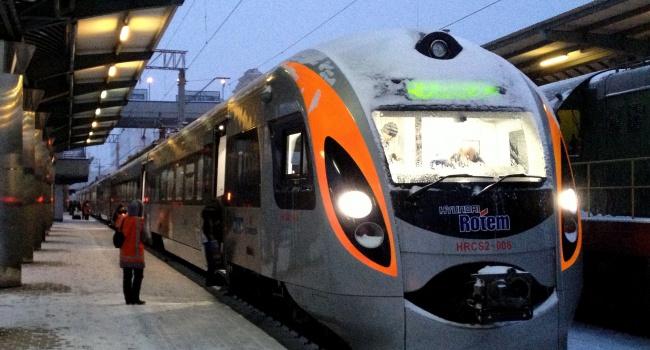 Три новых высокоскоростных поезда будут курсировать вгосударстве Украина