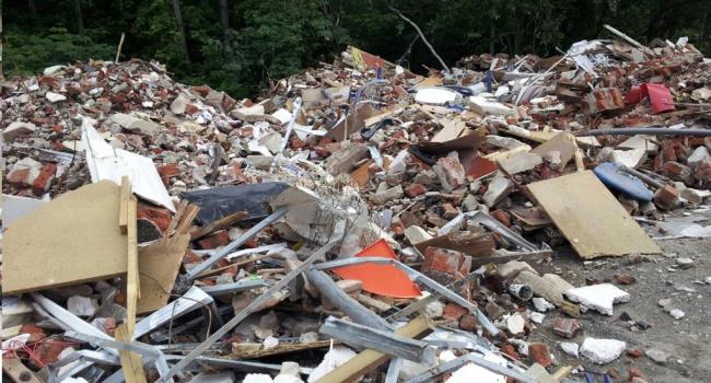 Львовский сор несанкционированно выбросили вПолтавской области