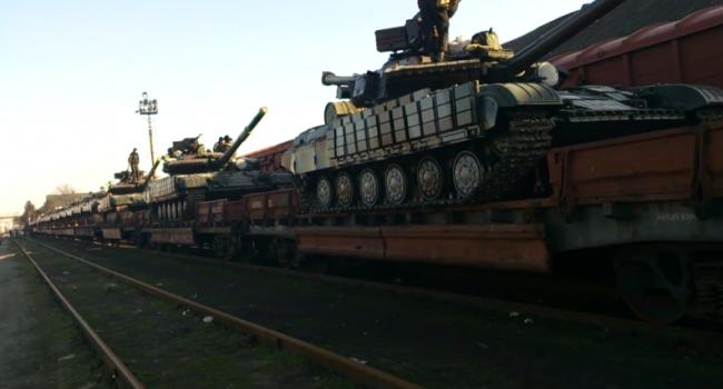Агентура: ВИловайск боевикам привезли танки и«Грады»