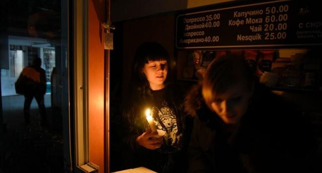 Оккупанты предупредили: ваннексированном Симферополе сноября снова будут выключать свет