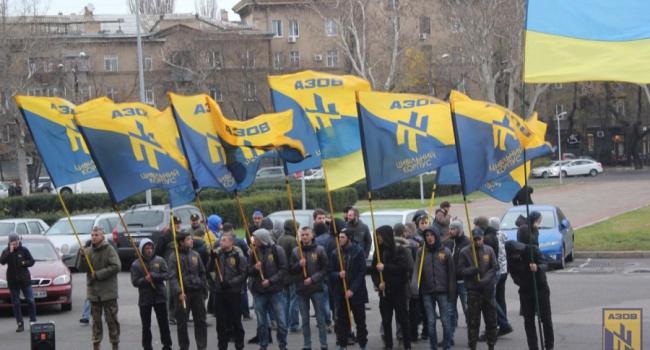 «Азов» створив політичну партію «Національний корпус»