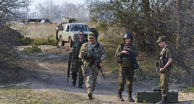 Автомобиль сукраинскими военнослужащими подорвался наЛуганщине