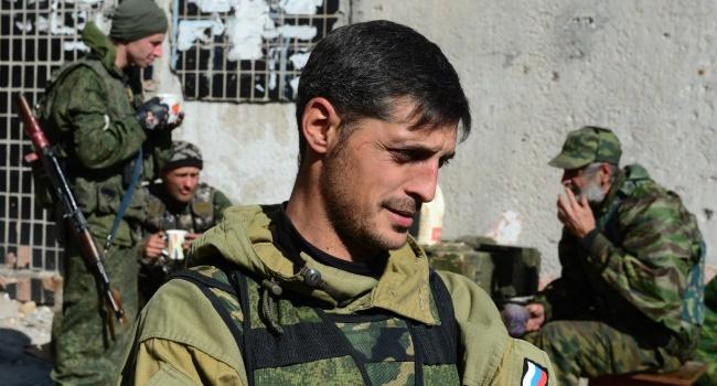 Тымчук: Гиви идет против Захарченко