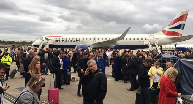 Встолице Англии изаэропорта эвакуировали 500 человек