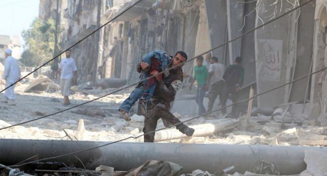 Бомбардировки Алеппо возобновились— защитники прав человека