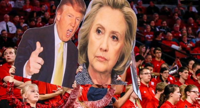Трамп иКлинтон идут вровень впрезидентской гонке— опрос