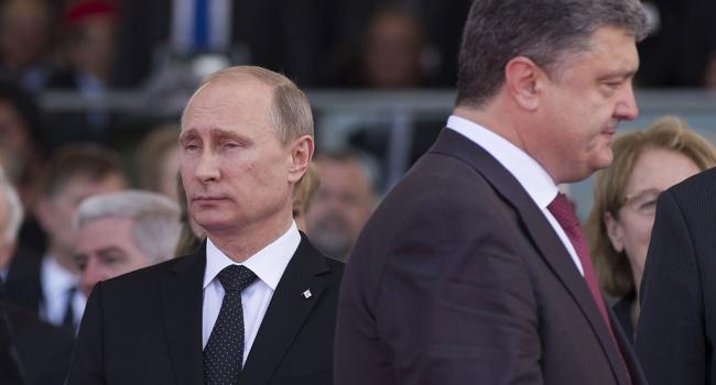 Порошенко неповышал голос на В.Путина вБерлине— Кремль