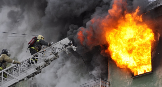 За минувшие сутки вУкраинском государстве зафиксировано 192 пожара
