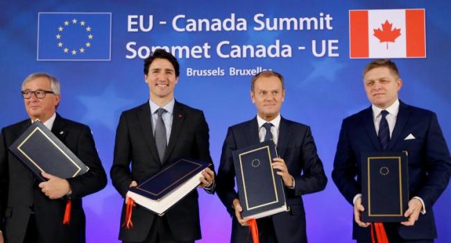 ЕСиКанада подписали соглашение освободной торговле