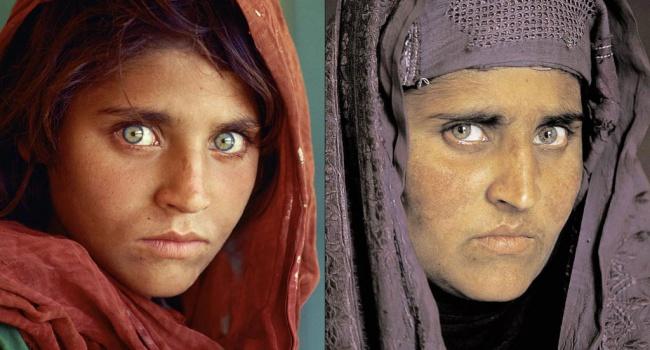 Афганская девушка со известной обложки National Geographic арестована заподделку документов