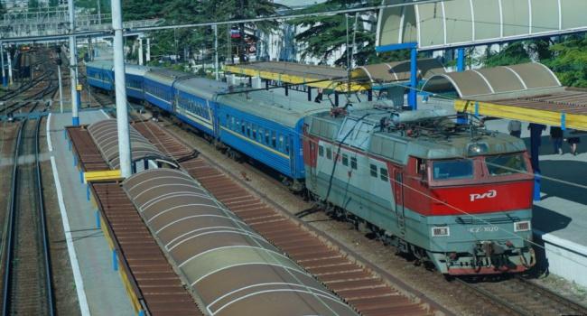 ВКрыму оккупанты хотят «приватизировать» железные дороги полуострова