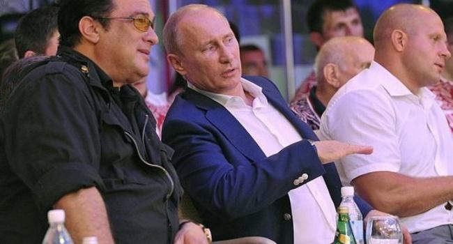 Пользователи соцсетей бурно отреагировали на российское гражданство Стивена Сигала