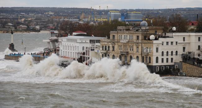 ВКрыму вближайшие два дня предполагается сильный ветер