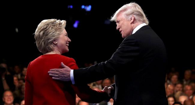 Трамп опережает Хиллари Клинтон— Выборы вСША