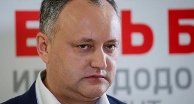 Кандидат впрезиденты Молдовы: Додон одержим мыслью хороших отношений сРФ
