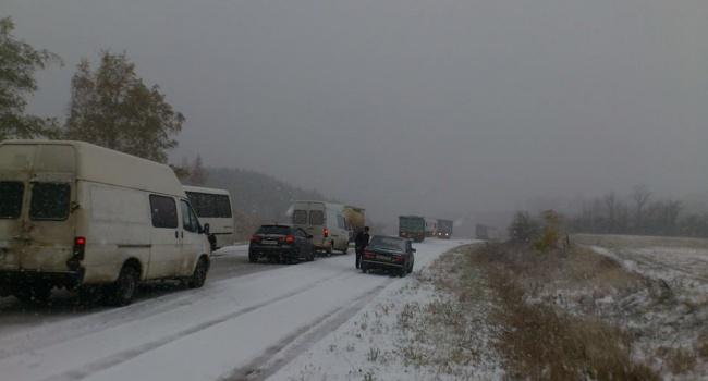 У Львівській області обмежений дорожній рух