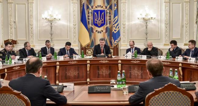 СНБО: Все силовые структуры вУкраинском государстве  работают вштатном режиме
