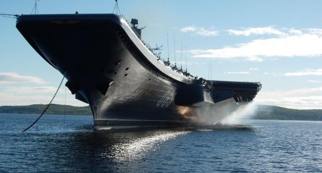 Блогер розповів про перші бойові втрати «Адмірала Кузнецова»